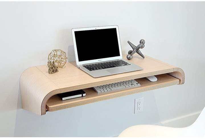 space saving desk for more productive work
