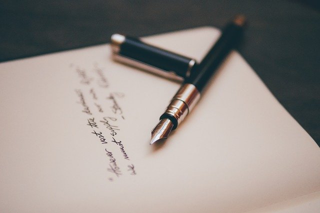 self care writing a letter